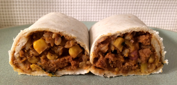 Sweet Earth Anasazi Burrito