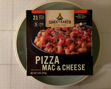 Sweet Earth Pizza Mac & Cheese