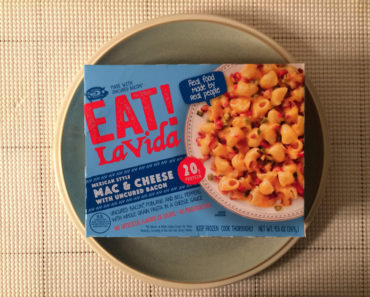 Eat! La Vida Review: Mexican Style Mac & Cheese with Uncured Bacon