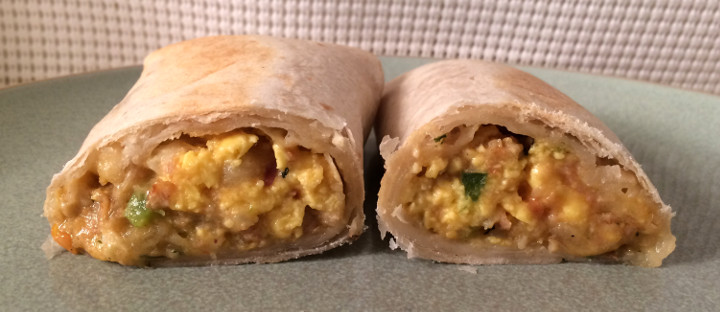 Evol Spicy Uncured Bacon & Egg Burrito
