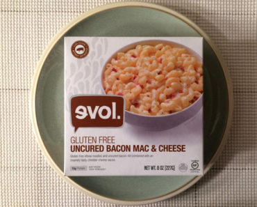 Evol Uncured Bacon Mac and Cheese