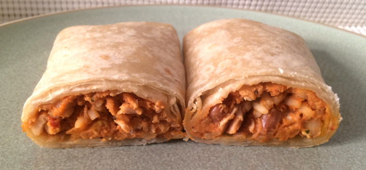 Evol Chicken, Bean & Rice Burrito