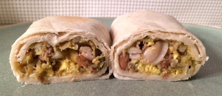 Evol Egg & Green Chili Burrito