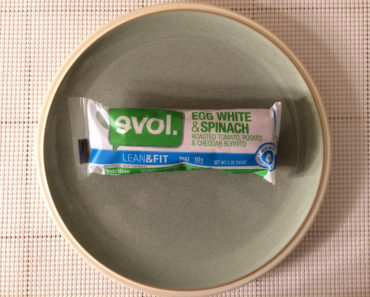 Evol Egg White & Spinach Burrito