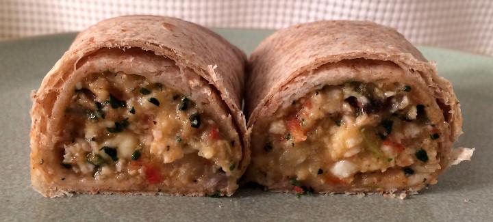 Evol Egg White & Spinach Burrito