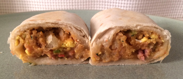 Evol Uncured Ham & Egg Burrito
