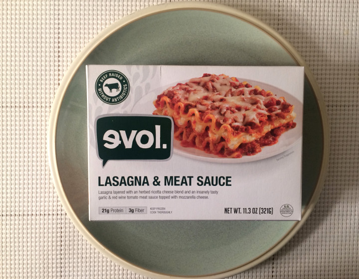 Evol Lasagna & Meat Sauce