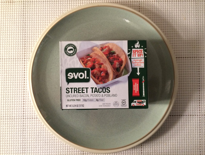 Evol Uncured Bacon, Potato & Poblano Street Tacos