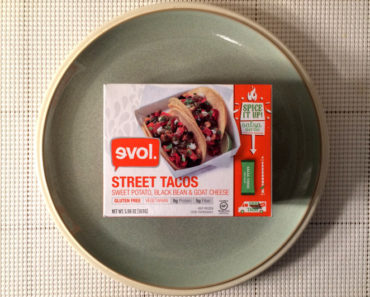 Evol Sweet Potato, Black Bean & Goat Cheese Street Tacos