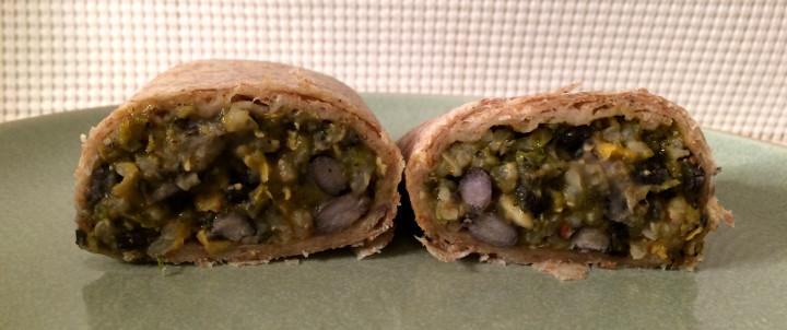 Evol Veggie Fajita Burrito
