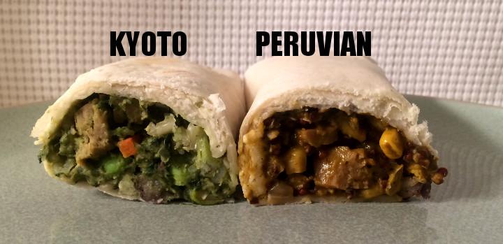 Sweet Earth Peruvian vs Kyoto