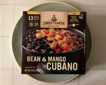 Sweet Earth Bean and Cheese Cubana