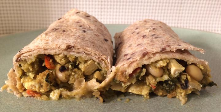 Sweet Earth Lighten Up Breakfast Burrito
