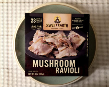Sweet Earth Mushroom Ravioli