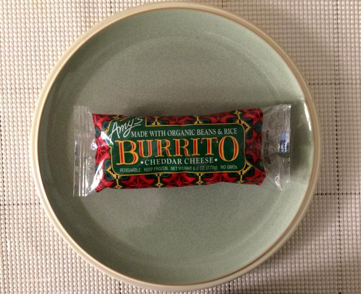 Amy's Cheddar Cheese Burrito