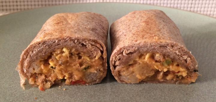 Evol Sausage, Egg & Smoked Gouda Burrito