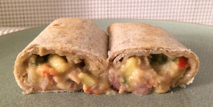 Good Food Made Simple Uncured Canadian Bacon Breakfast Burrito