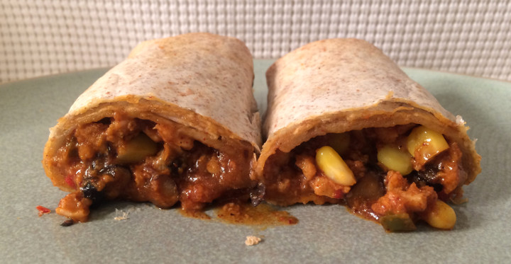 Good Food Made Simple Southwestern Veggie Burrito