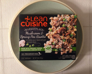 Lean Cuisine Mushroom & Spring Pea Risotto Review