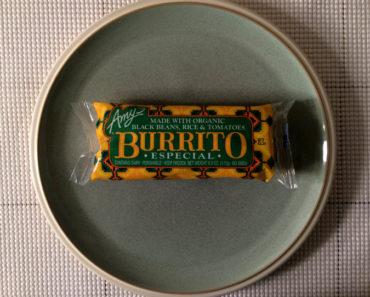 Amy's Burrito Especial Review