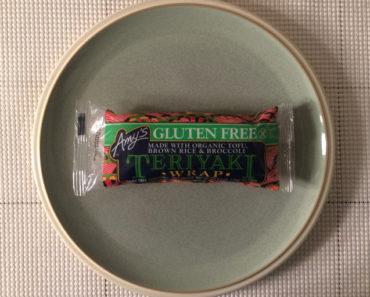 Amy's Gluten Free Teryaki Wrap