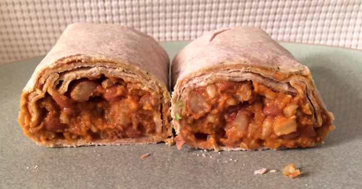 Amy's Light & Lean Bean & Cheese Burrito