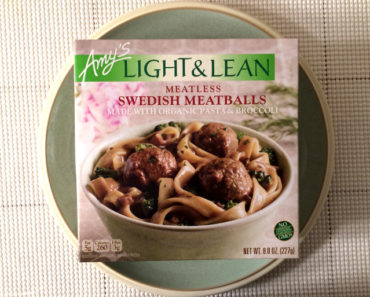 Amy's Meatless Swedish Meatballs