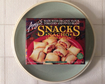 Amy's Cheese & Bean Nacho Snacks