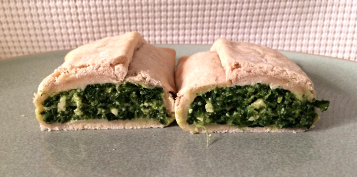 Amy's Spinach Feta in a Pocket Sandwich