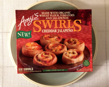 Amy's Cheddar Jalepeno Swirls