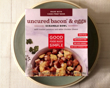Good Food Made Simple Uncured Bacon & Eggs