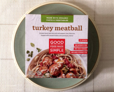 Good Food Made Simple Turkey Meatball