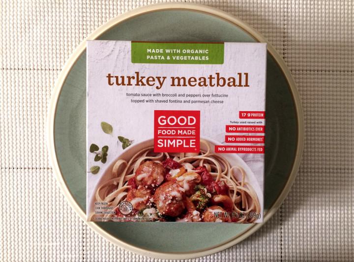 Good Food Made Simple Turkey Meatball