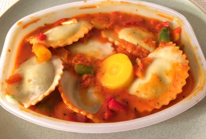Lean Cuisine Asparagus & Cheese Ravioli