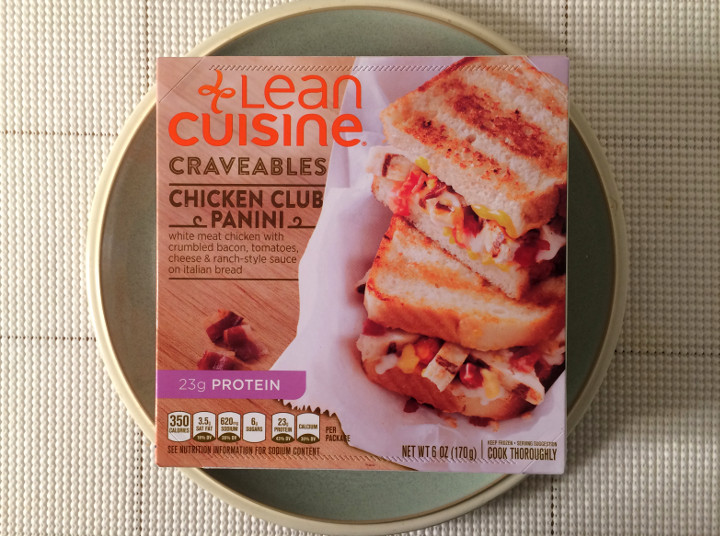 Lean Cuisine Craveables Chicken Club Panini