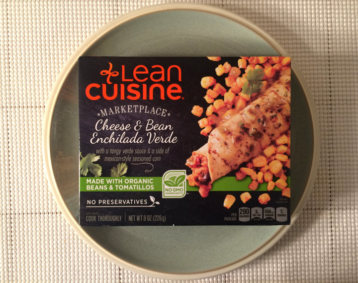 Lean Cuisine Cheese & Bean Enchilada Verde