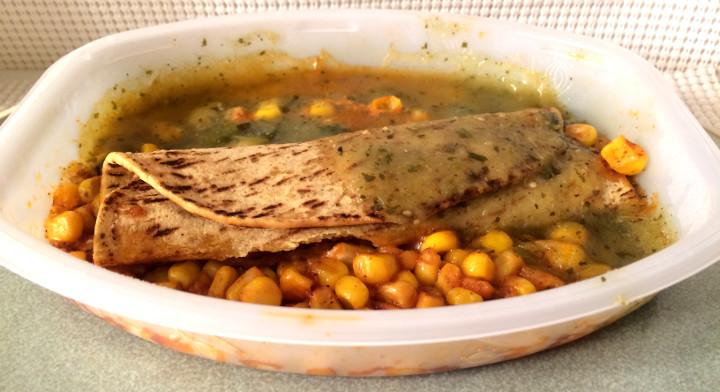 Lean Cuisine Cheese & Bean Enchilada Verde