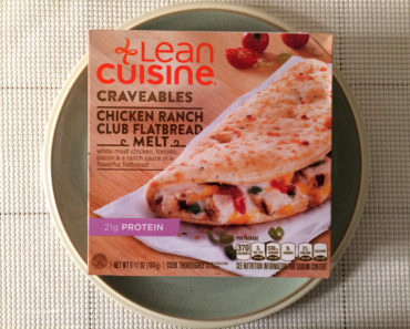 Lean Cuisine Chicken Ranch Club Flatbread Melt