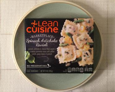 Lean Cuisine Spinach Artichoke Ravioli Review
