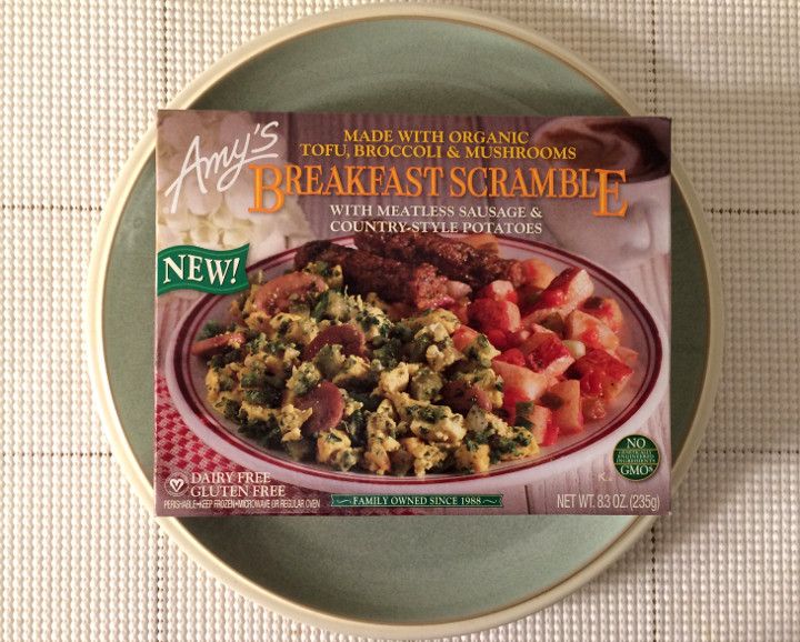 Amy's Breakfast Scramble with Meatless Sausage & Country-Style Potatoes