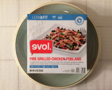 Evol Fire Grilled Chicken Poblano