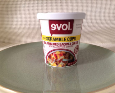 Evol Egg, Uncured Bacon & Cheese Scramble Cup