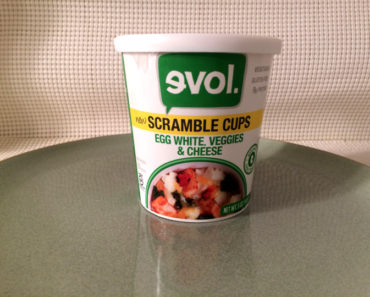 Evol Egg White, Veggies & Cheese Scramble Cup
