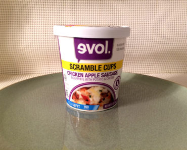 Evol Chicken Apple Sausage Scramble Cup
