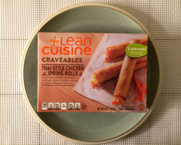 Lean Cuisine Craveables Thai-Style Chicken Spring Rolls