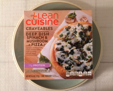 Lean Cuisine Craveables Deep Dish Spinach & Mushroom Pizza