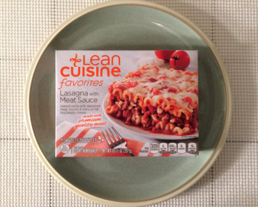 Lean Cuisine Lasagna with Meat Sauce