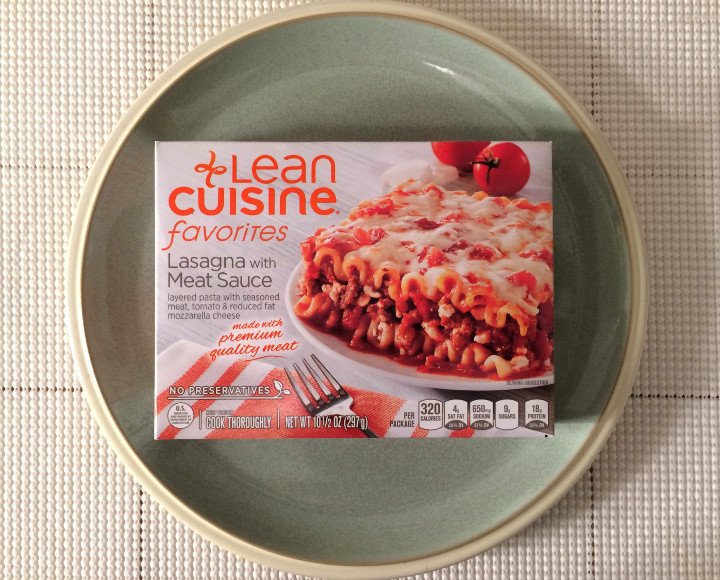 Lean Cuisine Lasagna With Meat Sauce Review Freezer Meal