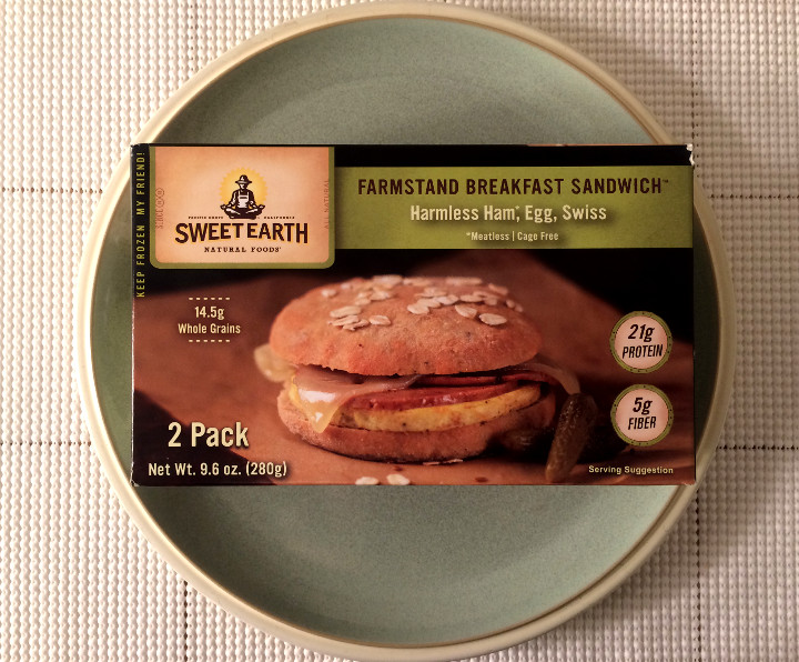 Sweet Earth Harmless Ham, Egg & Swiss Farmstand Breakfast Sandwich