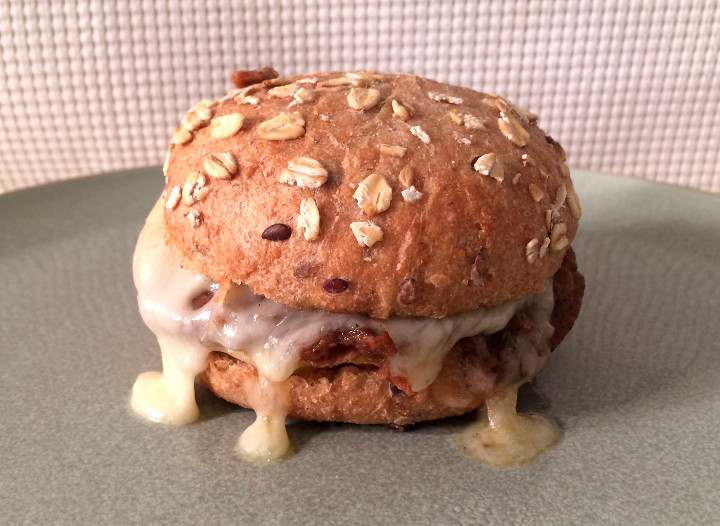 Sweet Earth Harmless Ham, Egg & Swiss Farmstand Breakfast Sandwich